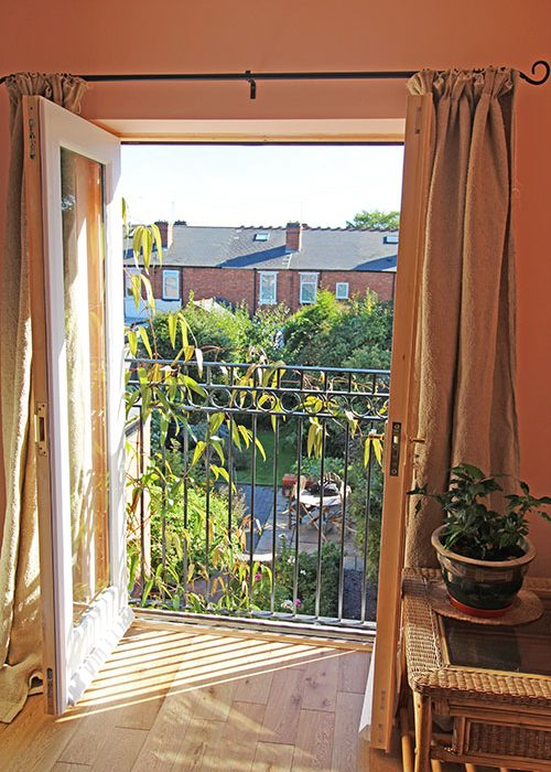 View out of Bearwood Terrace extension